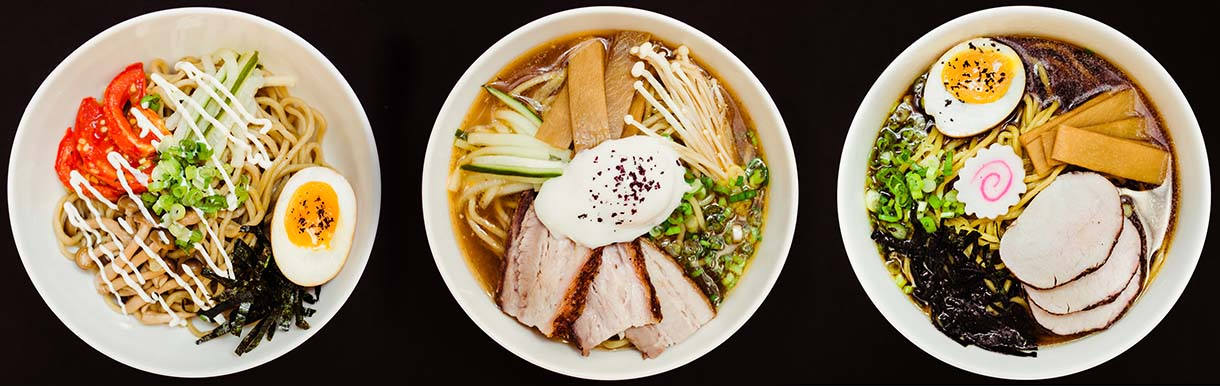 The flavors of Atomic Ramen