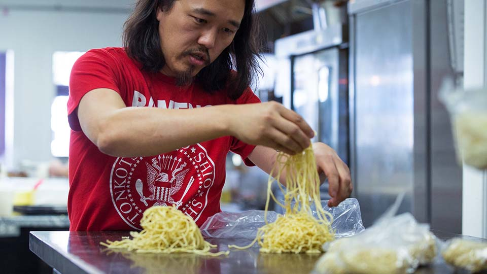 Dan Wu masters the art of ramen