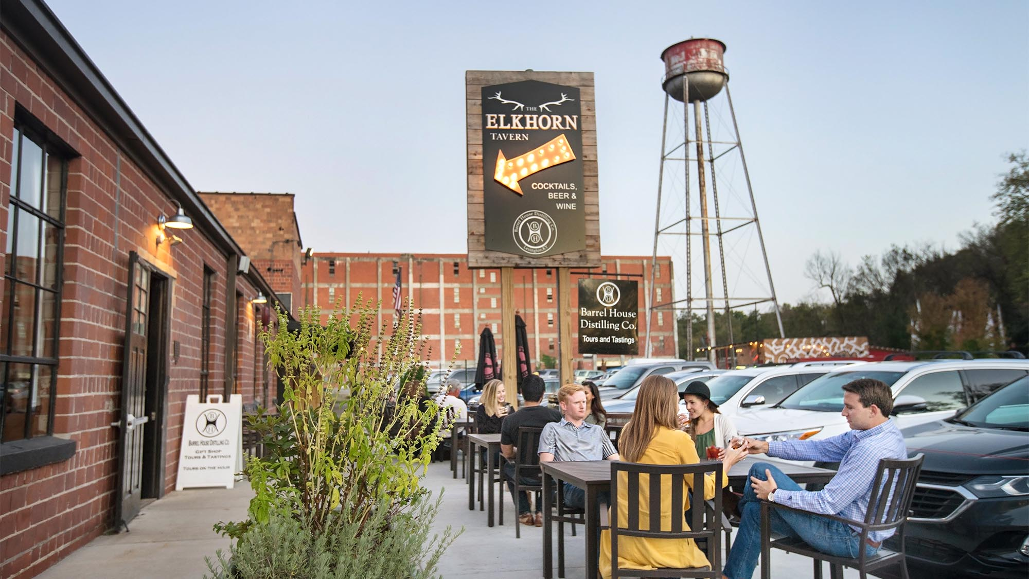 Elkhorn Tavern - Distillery District - Town Branch Creek