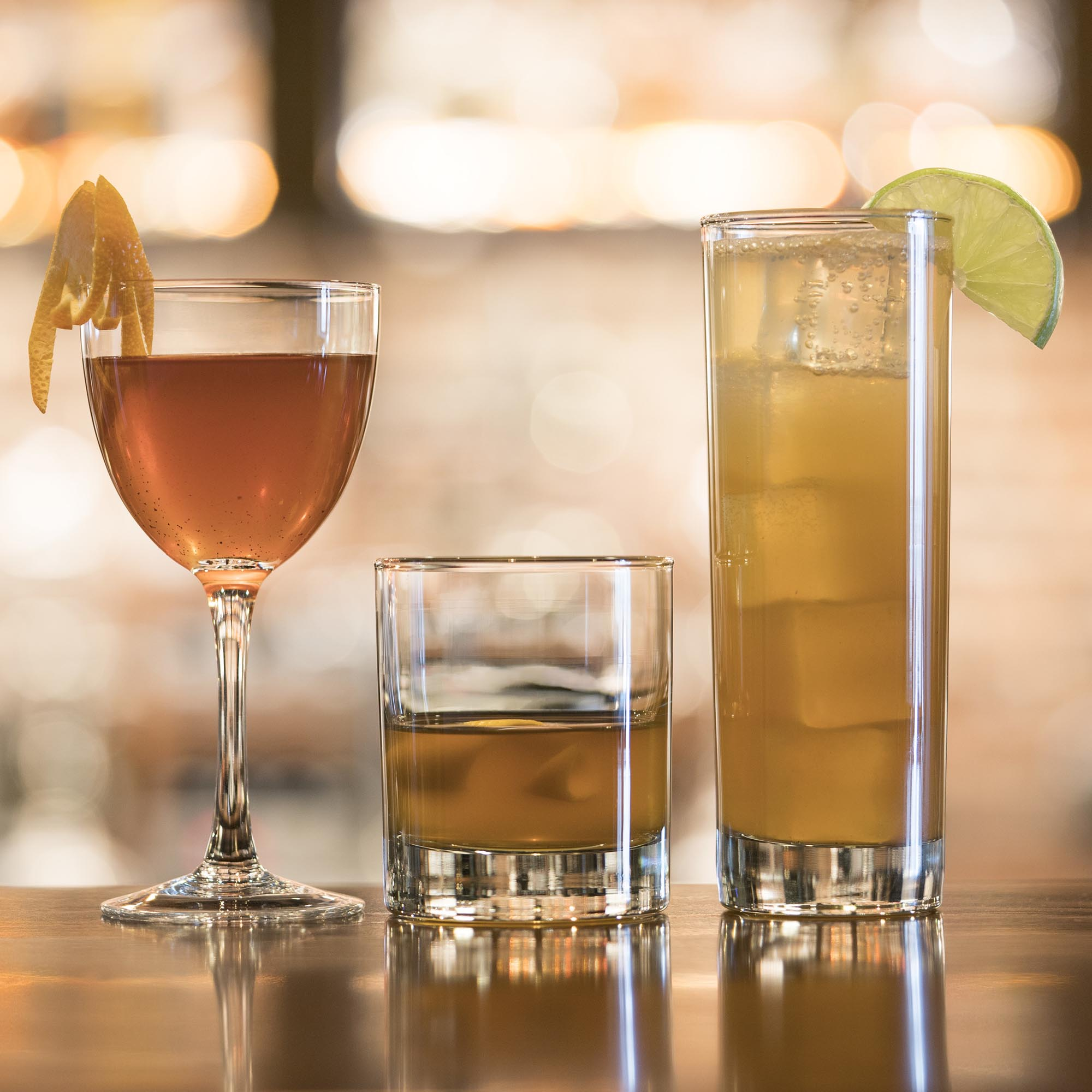 A flight of cocktails at West Main Crafting Co. - Marianne Eaves