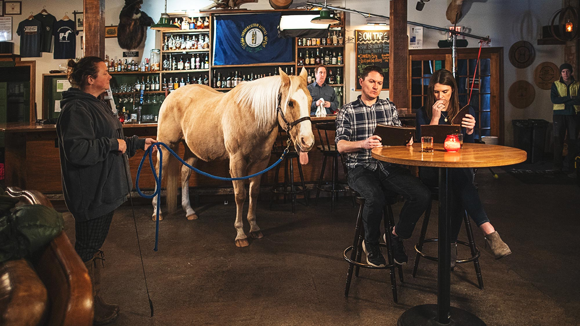 Behind the Scenes - Horse Walks into a Bourbon Bar